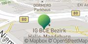 Karte WBS TRAINING SCHULEN gGmbH Halle (Saale), Deutschland