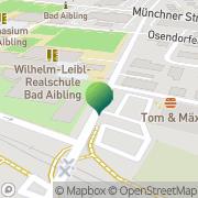 Karte Gymnasium Bad Aibling Bad Aibling, Deutschland
