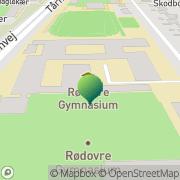 Kort Rødovre Gymnasium Rødovre, Danmark