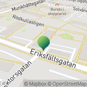 Karta Eringsmark Consulting Malmö, Sverige