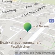 Karte Volkshochschule Feldkirchen Feldkirchen in Kärnten, Österreich