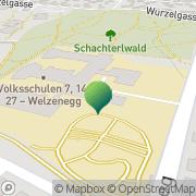 Karte Volksschule 27 - Welzenegg Klagenfurt, Österreich