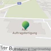 Karte ABC Service & Produktion Integrativer Betrieb GmbH Klagenfurt, Österreich