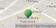 Map Základní škola Vodičkova Prague, Czech Republic