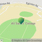 Map Scots All Saints College Llanarth, Australia