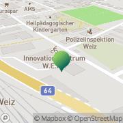 Karte Studien u. Technologie Transfer Zentrum Weiz GmbH Weiz, Österreich