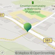 Mapa MUR Wałbrzych, Polska