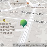 Karte Sonderpädagogisches Zentrum d Stadt Wien Wien, Österreich