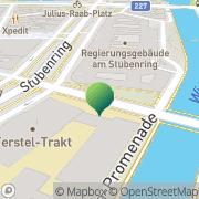 Karte Die Angewandte (Studienangelegenheiten, Ferstel-Trakt, Erdgeschoß) Wien, Österreich