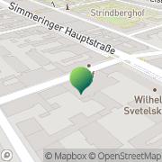 Karte Kindergarten Bayram Wien, Österreich