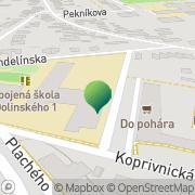 Map The British International School Bratislava (Nursery) Bratislava, Slovakia