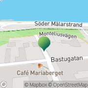 Karta Maria Magdalena Förskola Stockholm, Sverige