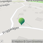 Karta Nyckelviksskolan Lidingö, Sverige