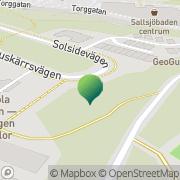 Karta Förskolan Lundsjön, Pysslingen Förskolor och Skolor AB Saltsjöbaden, Sverige