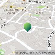 Carte de Sens & Toucher Castres, France