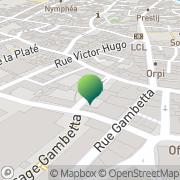 Carte de Ecole Centre Castres, France