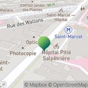 Carte de C.R.O.U.S de Paris Centre Régional des Oeuvres Universitaires et Scolaires Paris, France