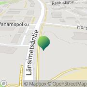Kartta Vaasan kaupunki Länsimetsän koulu Vaasa, Suomi