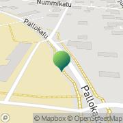 Kartta Vaasan kaupunki Isolahden koulu Vaasa, Suomi