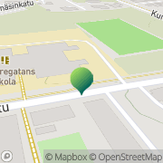 Kartta Vasa stad Borgaregatans skola Vaasa, Suomi