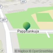 Kartta Karijoen kunta Karijoen koulu Karijoki, Suomi