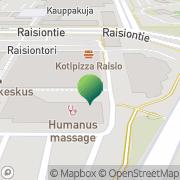 Kartta Trivasko Raisio, Suomi