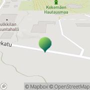 Kartta Kokemäen kaupunki Tulkkilan koulu Kokemäki, Suomi