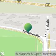 Kartta Seinäjoen kaupunki Joupin koulu Seinäjoki, Suomi