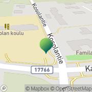 Kartta Kauhavan kaupunki Kosolan koulu Kauhava, Suomi