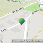 Kartta Salon kaupunki Alhaisten koulu Salo, Suomi