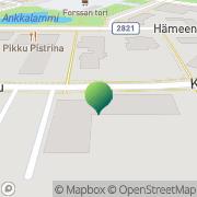 Kartta Forssan kaupunki Linikkalan peruskoulu Forssa, Suomi
