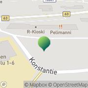 Kartta Kaustisen kunta Kirkonkylän koulu Kaustinen, Suomi
