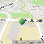 Kartta Tampereen kaupunki Härmälän koulu Tampere, Suomi