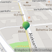 Kartta Sparra Tampere, Suomi