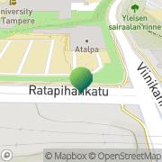Kartta Tampereen yliopisto kasvatustieteiden tiedekunta Tampere, Suomi