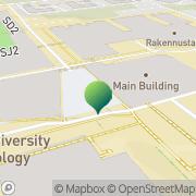 Kartta Tampereen teknillinen yliopisto Fysiikan laitos Tampere, Suomi