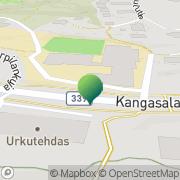 Kartta Kangasalan kaupunki Kirkkoharjun koulu Kangasala, Suomi