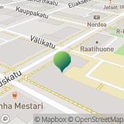 Kartta Tornion kaupunki yhteislyseon lukio Tornio, Suomi