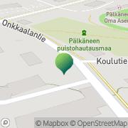 Kartta Pälkäneen kunta Kostian koulu Pälkäne, Suomi