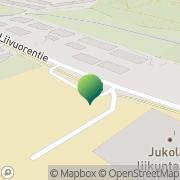 Kartta Hämeenlinnan kaupunki Jukolan koulu Hämeenlinna, Suomi
