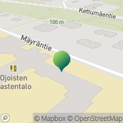 Kartta Hämeenlinnan kaupunki Ojoisten koulu Hämeenlinna, Suomi