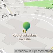 Kartta Vanajaveden Opisto Koulutuskuntayhtymä Tavastia Hämeenlinna, Suomi