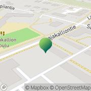 Kartta Kirkkonummen kunta Laajakallion koulu Kirkkonummi, Suomi