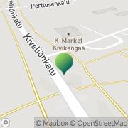 Kartta Kemin kaupunki Kivikon koulu Kemi, Suomi