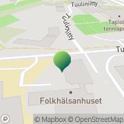 Kartta Espoon kaupunki Vindängens skola Espoo, Suomi