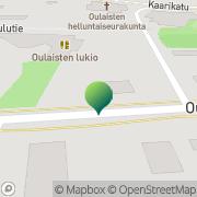 Kartta Oulaisten kaupunki lukio Oulainen, Suomi
