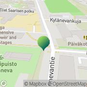 Kartta Helsingin kaupunki Haagan peruskoulu Helsinki, Suomi