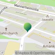 Kartta Helsingin kaupunki Meilahden ala-aste Helsinki, Suomi