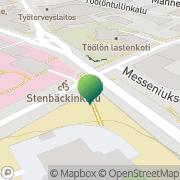 Kartta Helsingin kaupunki Zacharias Topeliusskolan Helsinki, Suomi