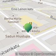 Kartta Helsingin kaupunki Töölön ala-aste Helsinki, Suomi